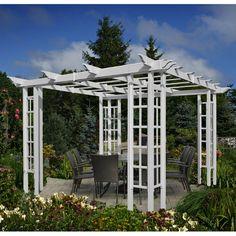 $400 for side panels. New England Arbors 10 ft. x 10 ft