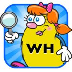 WH Question Cards: Who, What, When, Where, Why is an educational app that helps children learn how to correctly ask and answer WHO, WHAT, WHEN, WHERE, and WHY questions with four entertaining learning games for each WH set of cards.
