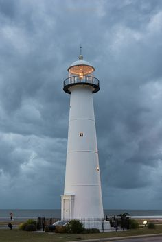 Lighthouse, Biloxi , Mississippi by Alex North  Nov. 25, 2015