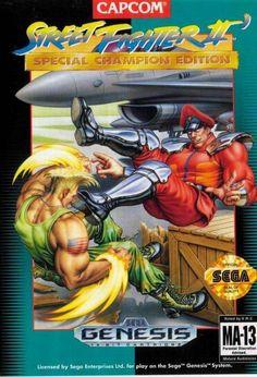 Street Fighter II Special Champion Edition for the Sega Genesis. #sega