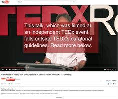 TED claims it's about ideas worth spreading, but this is what TED does to ideas put out on its forum that it judges to be alternative or non-mainstream — see attached screenshot, and full talk at this link (https://www.youtube.com/watch?v=ZyfE3IvDWR8). They stick an orthodox health warning over the speaker's face, smear […]