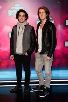Arrivals at the MTV EMA's