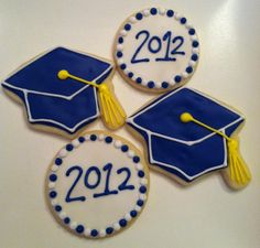 Sweet Treats by Susan: Graduation Cookies - Class of 2012!
