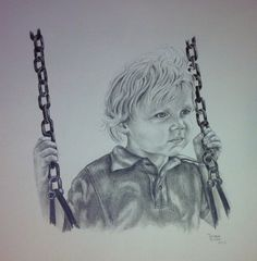 """""""Gage Swinging"""" by Debbie Rumbaugh Lucas"""