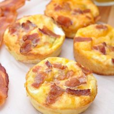 bacon egg and toast breakfast muffins | @Mindy CREATIVE JUICE