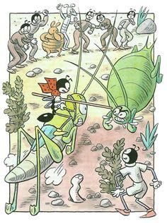 pohádka: Ferda Mravenec v mraveništi