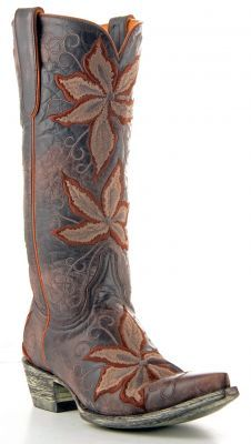 Womens Old Gringo Gemma Boots Chocolate And Cognac #L641-5 via @Allens Boots. <3