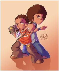 deviantART: More Like The Boondocks Wallpaper by Treybacca
