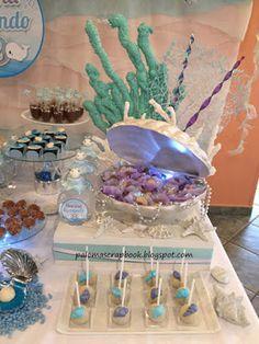 Festa fundo do mar Under the sea party