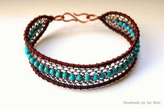 Turquoise with recycled and raw copper. | Flickr - Photo Sharing!
