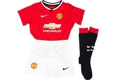 Nike Lil Boys Manchester United 2014-15 Home Kit   SoccerMaster.com