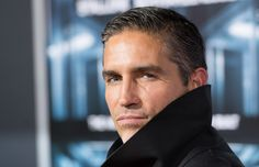 Actor Jim Caviezel attends 'Escape Plan' New York Premiere at Regal E-Walk on October 15, 2013 in New York City.