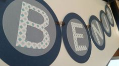 Benjamin  Baby or Child's name Banner by IttyBittyBoutik on Etsy