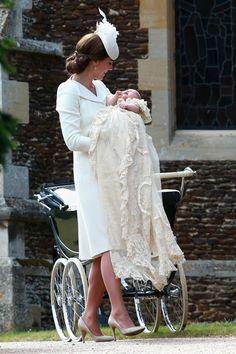 Kate Middleton and Princess Charlotte - CountryLiving.com