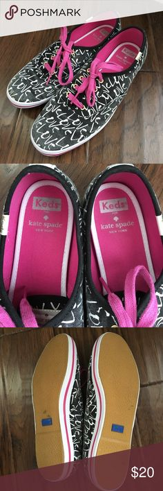 Kate Spade Keds Sneakers In good condition! Not sure if the fading is intentional. kate spade Shoes Sneakers