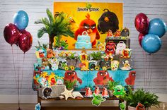 Linha Angry Birds - Regina Festas