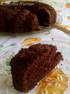 bolo de chocolate com biomassa