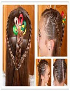 Fantastic princess hairstyle