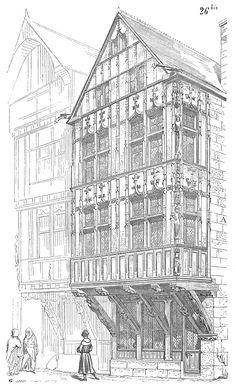 Dictionnaire raisonné de l'architecture française du XIe au XVIe siècle/Maison - Wikisource