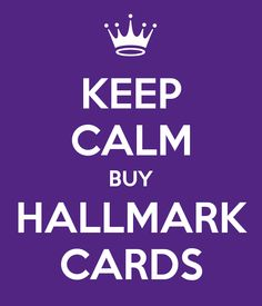 KEEP CALM BUY HALLMARK CARDS