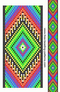 Free Native American Beadwork Designs | Native American Beadwork | Pinterest