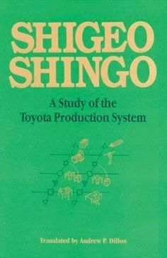 A Study of the Toyota Production System: From an Industrial Engineering Viewpoint (Produce What Is Needed, When It's Needed) by Shigeo Shingo http://www.amazon.com/dp/0915299178/ref=cm_sw_r_pi_dp_SEdUub0A9P61E