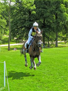"""""""A Horse can Fly!"""" Bramham International Horse Trials 2013 