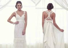 Nice racerback wedding dress