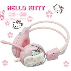 hello Kitty headphones headset