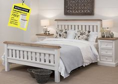 Mansfield Queen Bed from Early Settler - SaleFinder