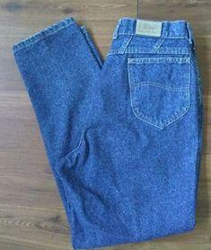 1a13cbd5ec Vtg Lee Riders Blue Jeans Women Size 16 Cotton Denim Mom W32 L31 High Waist  Rise