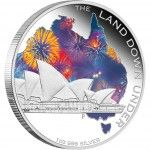Land Down Under – Sydney Opera House 2013 1oz Silver Proof Coin from The Perth Mint