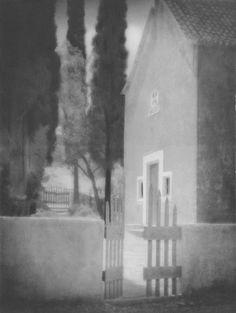 Tadeusz Wański collection / Senj, Cmentarz / Chorwacja / 40 x 30 cm, bromolej