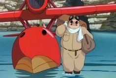 porco rosso - Google Search Hayao Miyazaki, Nihon, Disney Animation, Studio Ghibli, Neverland, Tumblr, Fan Art, Japan