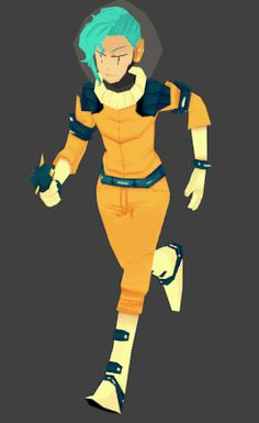 Pchoo - 3D practice of my space lady. I started her ages...