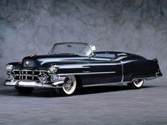 1953 Eldorado. Available only as a convertible, the first Eldorado was Cadillac's glamour car for the '50s.