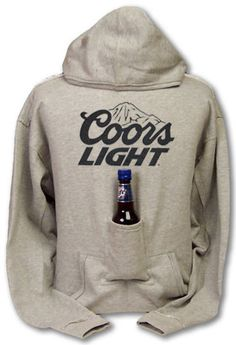 beer holding hoody, YES PLEASE!