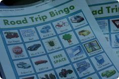Tips for road trips with kids.  Some new ideas of activities for the kids when we travel.