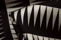 Sharp Teeth - Silk Twill - Tessuti Fabrics - Online Fabric Store - Cotton, Linen, Silk, Bridal & more