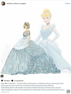 Okay admit it, you've dreamed about being a Disney Princess at least once. For me, it's more like once a day! Michael Anthony designs debuted a Disney Princess couture collection on Instagram and it is everything! Michael Anthony goes all out in this collection and creates stunning looks inspired by a full range of Princesses. …