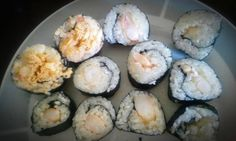 Sushi made by my friend Grace