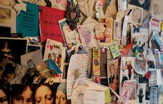 Valentina's mood board of Mexican brights