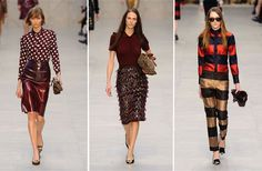 Burberry CollectionFrom London Fashion Week, Fall 2013