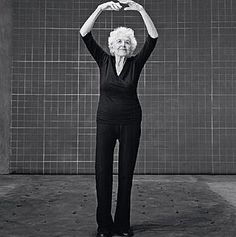 "This is real motivation: Esther Tuttle, age 99 How to be confident: Treasure your health every day. ""Your body is your instrument, and you have to take beautiful care of it. I do one hour of yoga and walk for 30 minutes every day. You really enjoy life a lot more if you're healthy. And I never leave home without putting on lipstick—it makes me feel pretty!"""
