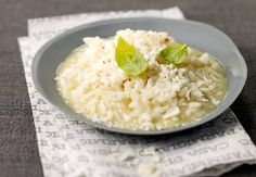 Find parmesan risotto stock images in HD and millions of other royalty-free stock photos, illustrations and vectors in the Shutterstock collection. Risotto Recipes, Parmesan Risotto, Veggie Recipes, Vegetarian Recipes, Cooking Recipes, Healthy Recipes, Veggie Food, Healthy Food, Ideas