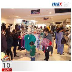 Rush at MAX store - Siliguri