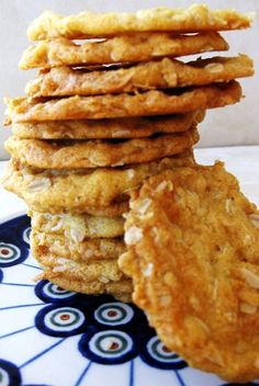 Anzac cookies  I've been wanting to try these :)