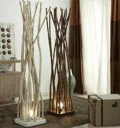 diviciones decorativas lamparas,