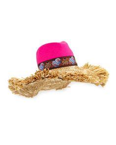 826f82c907849 Etro Straw Sun Hat w  Raffia Trim