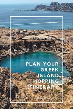 If you are trying to determine how to travel between the Greek Islands, then this Greek Island hopping itinerary will help guide you on planning out the best routes so that you can choose the best Greek Islands to visit. Greek Islands Vacation, Greek Islands To Visit, Best Greek Islands, Greece Vacation, Greece Travel, Travel Europe, Greece Honeymoon, Greece Trip, Travelling Europe